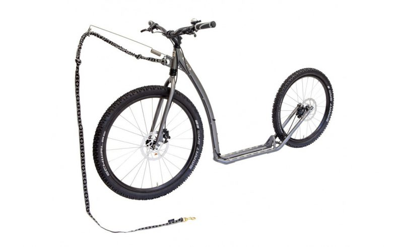 Kostka Mushing Footbike available from OP Scooters