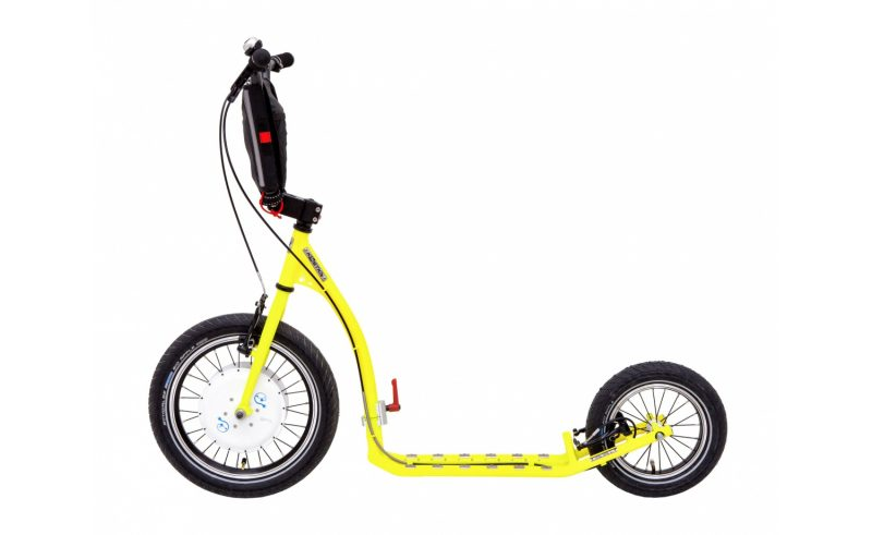 Electric foldable scooter Kostka rebel available from OP Scooters